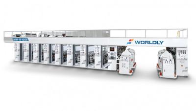 Машина глубокой печати Worldly WRP-AS