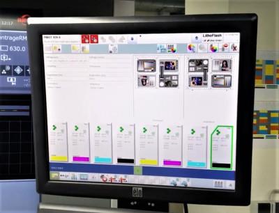 Lithec LithoFlash Inline система контролю якості офсетного друку